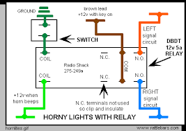 horn lites for bikes quickly for the expert supply a key on 12v through the relay to both signal circuits when triggered while keeping them isolated when not triggered which