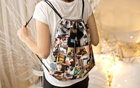 How To Design Your Backpack Instagram Drawstring Backpack Design Your Own Fabristic