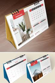 Planner 2020 Template Desk Calendar 2020 Table Calendar Planner 26 Pages Corporate Identity Template