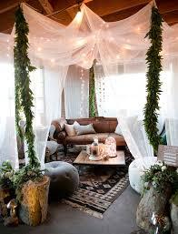 boho style canopy