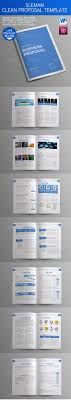 professional business proposal templates sixthlifesixthlife sleman clean proposal template