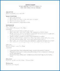 Entry Level Prep Cook Resume Sample Fantastic Line Objective Of Interesting Prep Cook Resume
