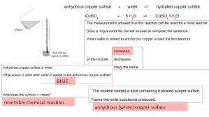 investigating temperature changes when dissolving ammonium nitrate or reacting citric acid and sodium hydrogencarbonate