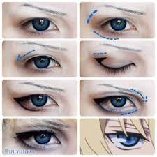 mikaela hyakuya makeup anime makeup tutorial cosplay makeup tutorial cosplay diy anime eye