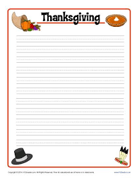thanksgiving printable lined writing paper thanksgiving lined writing paper