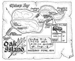 Oak Island Tide Chart 2016 Oak Island Money Pit Oak Island Map Oak Island Oak
