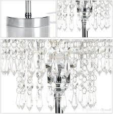 chandelier bedside table lamp chrome round crystal chandelier bedroom nightstand table lamp led night light bedside chandelier bedside table lamp