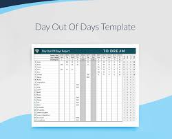 Free Download Spreadsheet Templates Day Out Of Days Dood Template Free Download Sethero