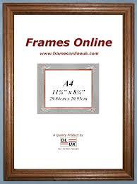 c range teak wood picture frame