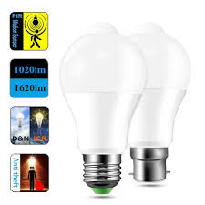 Light N Motion Us 3 47 33 Off Led Bulbs 12w 18w Night Light E27 B22 Pir Motion Sensor Auto Energy Saving Light Lamp Bulb Living Room Accessories In Led Bulbs