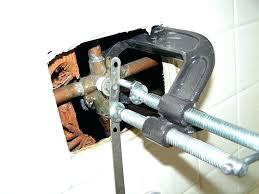 shower valve seat replacing shower valve replacing shower valve unique replace old broken shower faucet replacing