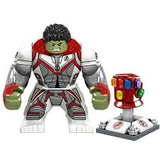 <b>Avengers 4 Super</b> Hero <b>Marvel</b> Hulk Gauntlet Mini Figures Building ...