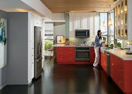 Kitchens With Slate Appliances No Matter The Color Scheme Ges Slate Finish Appliances Blend And