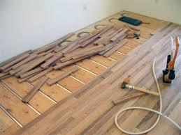 installing wood flooring over