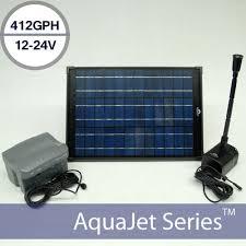 solar fountain pump kits solar water fountain pump battery backup 24v aquajet pro kit