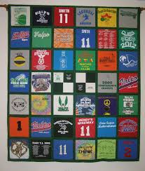 T-Shirt Quilts | Custom Quilting and Sewing by Laurel Hahn & T-Shirt Quilt with sashing Adamdwight.com