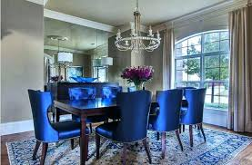 Dark Blue Dining Room Chairs Excellent Royal
