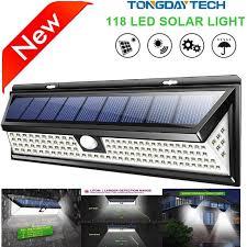 solar lamp 118 led pir
