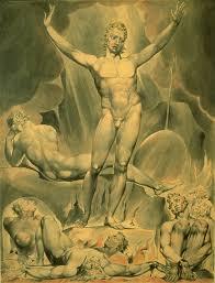 william blake 1757 1827 satan arousing the rebel angels 1808