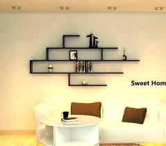 wall shelf decorating