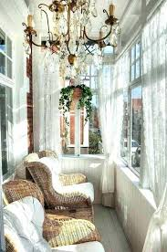 sunroom decorating ideas window treatments. Ideas Sunroom Curtain Curtains Decorated With Crystal Chandelier And Hanging Basket Plants Also Lace Decorating . Window Treatments T