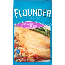 Wild Caught Skinless Flounder Fillets 1lb Bag - Walmart.com