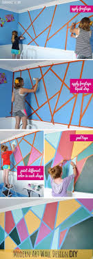 Painting Patterns On Walls Best 25 Creative Wall Painting Ideas On Pinterest Stencil