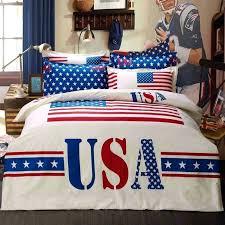 american flag duvet covers usa american flag 100 cotton 4 pc duvet cover bed linen queen
