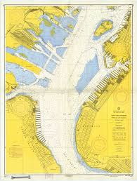 New York Harbor Nautical Chart Mariners Weather Log Vol 51 No 2 August 2007
