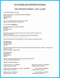 10 Best Assembly Line Job Description For Resume Sierra