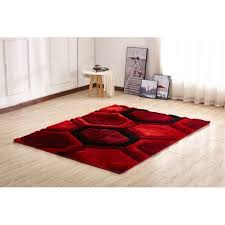 natural area rugs stair treads beautiful orren ellis kleiber modern gy 3d red black area rug