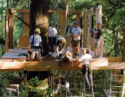 how to build a treehouse. Building Treehouse How To Build A