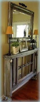entryway furniture ideas. diy entry table when you donu0027t have a lot of roomplus other awesome ideas love the skinny with mirror like look entryway furniture