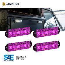 Purple Emergency Vehicle Lights