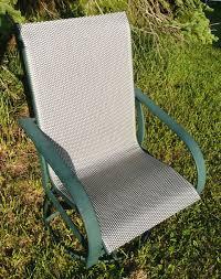 Patio Sling Fabric Replacement FL036 Amelia Leisuretex PVC OlefinWinston Outdoor Furniture Repair