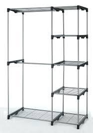 double rod closet freestanding in whitmor