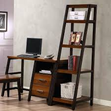 desk wall bookcase with computer desk whalen waco desk with 2 drawers and shelf and