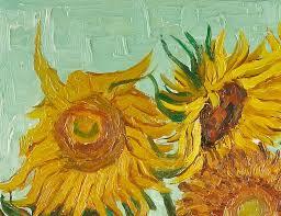 vincent van gogh sunflowers oil painting cm 50x60 cp017