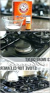 cleaning glass stove top how to clean a stove top with vinegar new tops cleaning glass