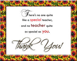Thank You Teacher Quotes Custom Thank You Quotes 48greetings
