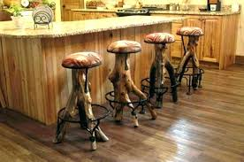 rustic bar countertop ideas outdoor diy counter stool leather stools height in kitchen enchanting