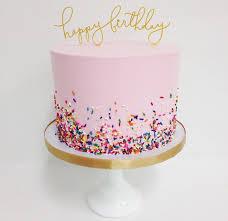 Simple Birthday Cake Kids Parties Birthday Cake Cake Birthday
