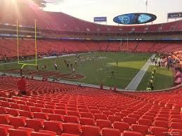 Arrowhead Stadium Section 108 Rateyourseats Com