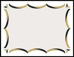 black and gold frame png. Clipart Info Black And Gold Frame Png
