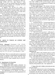 The Ad Litem Manual For Texas Probate Courts For