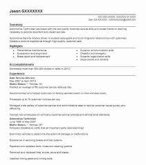 Auto Service Advisor Resume Sample