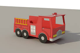 Design Your Own Truck For Fun Build Your Own Childs Single Firetruck Bed Diy Plans Fun