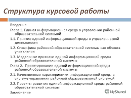 Презентация на тему ТЕМА КУРСОВОЙ РАБОТЫ ВОЗМОЖНОСТИ И  7 Структура курсовой работы