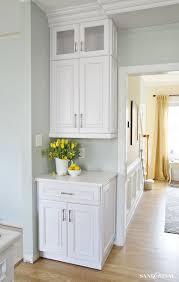 white kitchen cabinet hardware. White Kitchen Cabinets - DIY Cabinet Hardware Template E