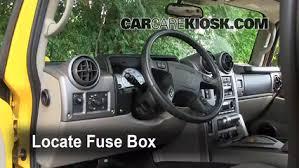 2003 hummer h2 6 0l v8 fuse interior replace